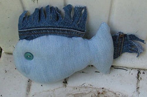 Make a Denim Fish