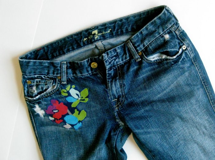 Reparing that favorite pair of jeans