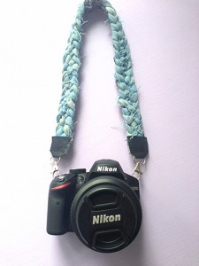 Camera Strap Made From Recycled Denim Jeans