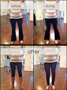Convert Your Old Jeans Into Skinny Jeans