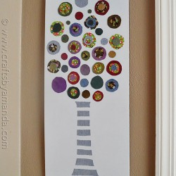 Denim Art: Make A Circle Tree From Jeans