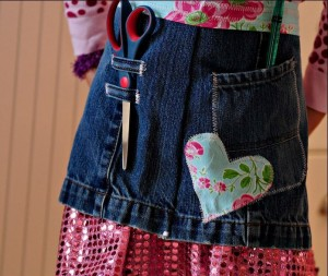 Denim Craft Apron