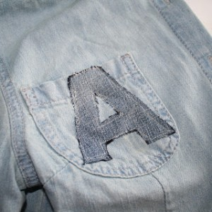 Denim Monogram
