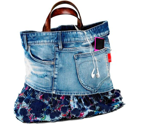 Denim Purse, Denim Bag