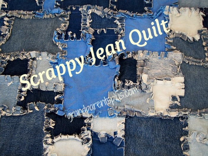 Denim Quilt Made from Jeans