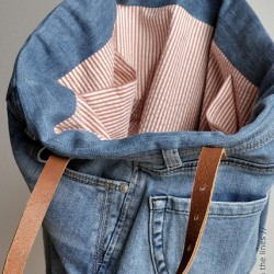 Transform Ill-Fitting Jeans Into a Fabulous Tote