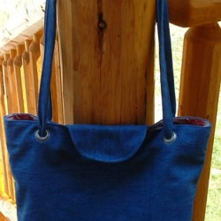 Recycle Jeans Into a Denim Tote Bag