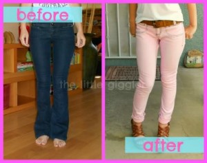 Dye Jeans to a New Color