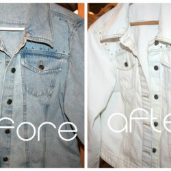 Surprising Denim Jacket Transformation