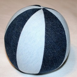 Denim Play Balls Made From Recycled Jeans