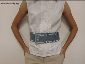 Make a Denim Belt