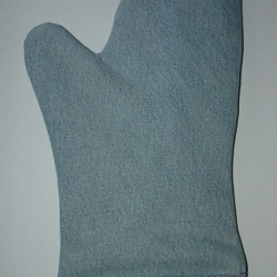 Denim Potholder, Oven Mitt and Trivet