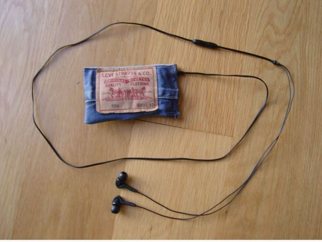 Make a Denim Phone, iPod or Case from Recycled Denim Jeans