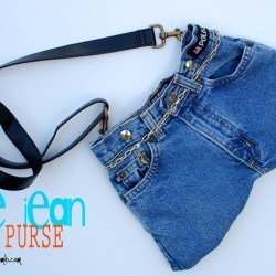 Make a Fun, Funky Denim Bag from Old Jeans
