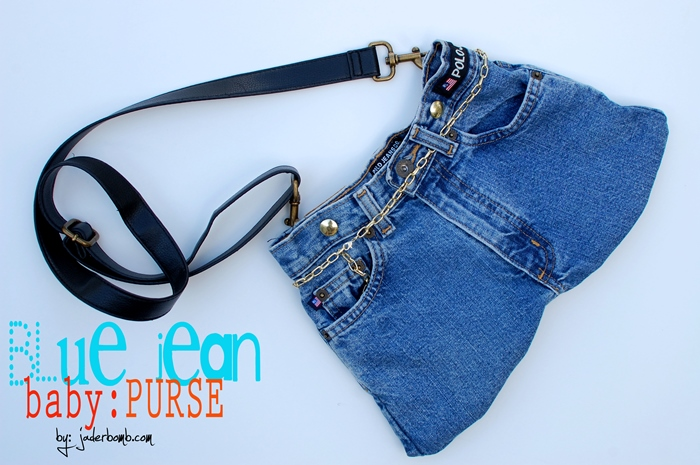 Make a Purse from Old Jeans