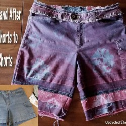 Makeover Old Denim Shorts For A Fun New Look