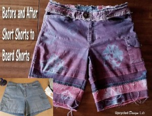 Makeover Old Shorts
