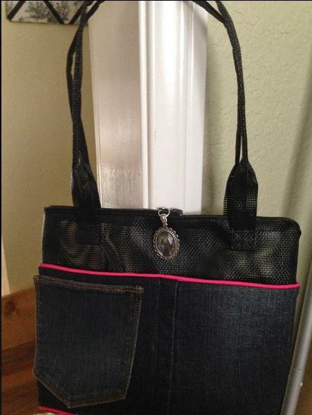 Recycled Denim Bag Tutorial