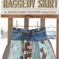 Make An Adorable Skirt From Old Jeans