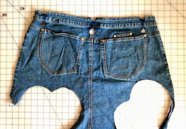 Sew a Denim Potholder