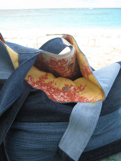 Sew a Denim Tote from Repurposed Jeans