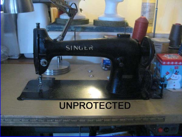 Tutorial for a Denim Sewing Machine Cover Made From Jeans 2