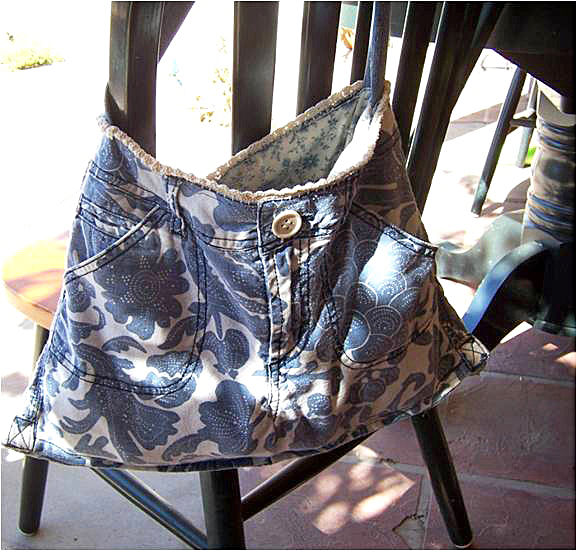 Denim Purse Handbag