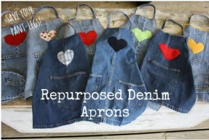 Denim Pot Holders From Recycled Jeans